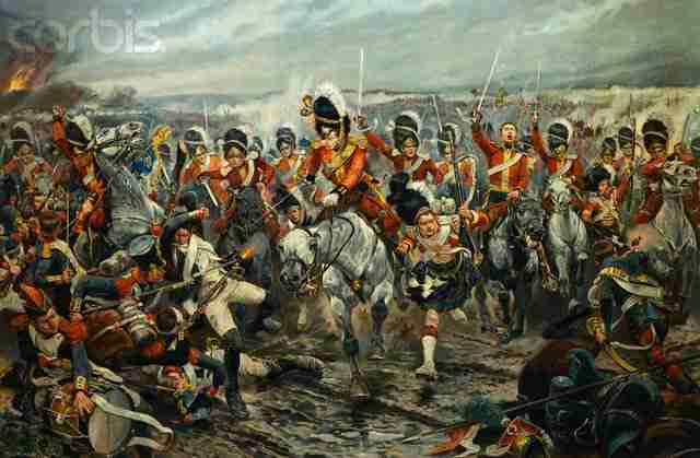 Scotland yet onto Victory by Richard Caton Woodville